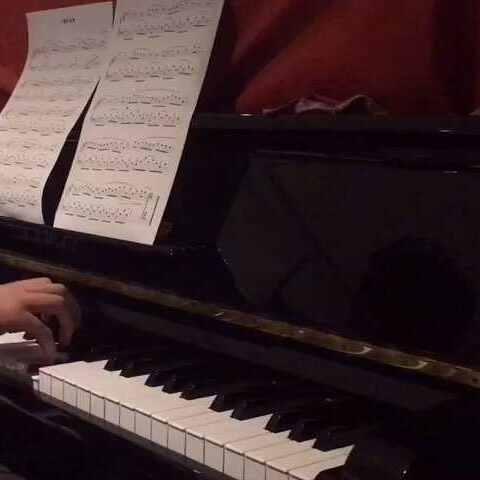 【鲜远piano美拍】#卖谱子# 简易钢琴作品《晚安》.