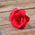 三分钟教你叠出漂亮的红玫瑰,比纸玫瑰更逼真,撩妹技能...拿去撩妹吧...#手工#