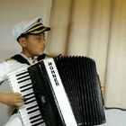 #U乐国际娱乐##手风琴##晨练#勤能补拙,用脑弹琴