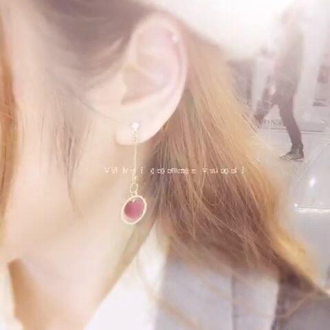 【混丸Maruko美拍】刚买的耳环嘤嘤嘤好喜欢~~