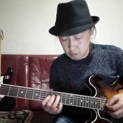 经典布鲁斯乐句教学(2) 减和弦琶音的应用 #音乐##吉他##布鲁斯#