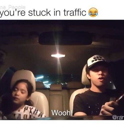 When You're Stuck In Traffic ¦ Ranz and Niana