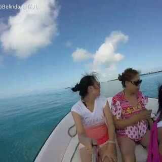 #加勒比海湾##拿骚##猪岛##在海边##海上快艇##蓝天大海#