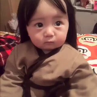 小美女来了 😃😃#宝宝#