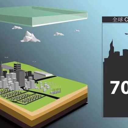 监测大气以减少城市温室气体排放