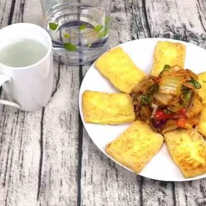 辣白菜五花肉再经典不过的朝鲜族风味美食,不过再配上煎豆腐,那味道简直就是不要不要啦……😄😄😄😄#美食##地方美食##美食##美食作业#