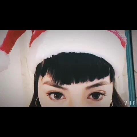 【陈念灵美拍】#圣诞节快乐##圣诞美妆大赛##今...