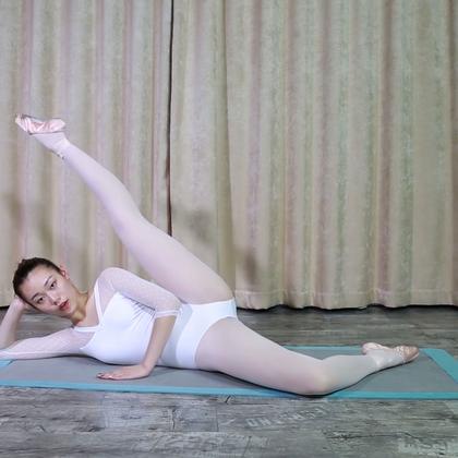 MODO健康Vol.16-芭蕾燃脂塑形系列「腿部篇」(下)1.22倍速版,四周塑造纤细腿部线条。#美腿女神##女神##健身#@美拍小助手