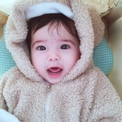 熊孩子出门#宝宝#