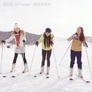 #第一次滑雪##女生之间的友谊#我的艳宝!和你在一起,做什么都很开心!@美拍小助手 @美拍小助手