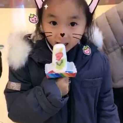 录像为证 我妹偷吃冰淇淋 我要告诉妈妈🤔#宝宝##faceu#
