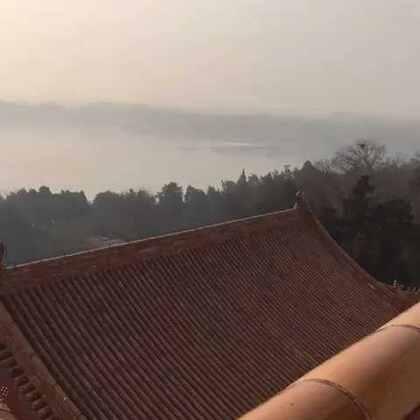 颐和园登高远望,雾霾茫茫🤦🏻♂️