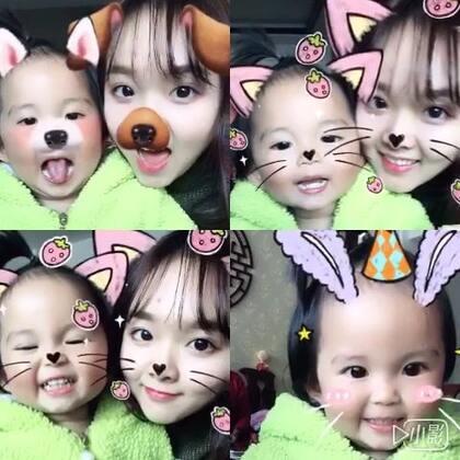 #2017第一个视频自拍##宝宝##faceu##2017年的第一个美拍#宝宝❤