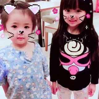 两只小猫咪昨天玩儿嗨了@美拍小助手 #宝宝##闺蜜聚会#