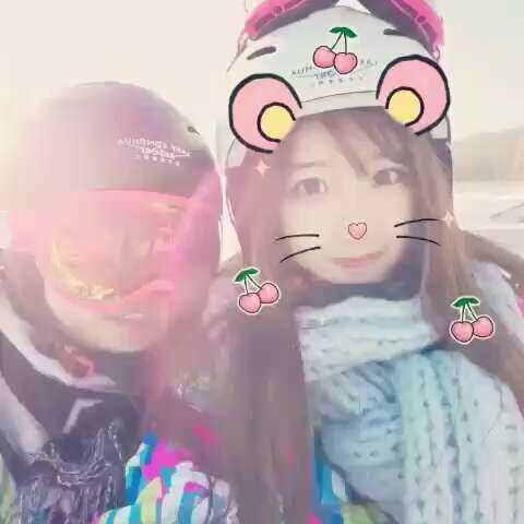 【战旗TV牛小蘑菇美拍】滑雪 全副武装👿👿