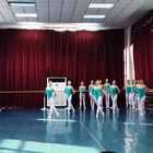 武汉市艺术学校3年级上学期女班射燕跳