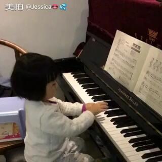 #小小钢琴家#