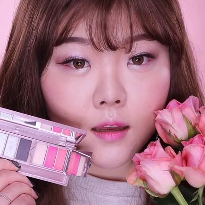 #HOLY# 这视频于#兰蔻Lancome#合作啦~《Pink French Rose Makeup粉色法式玫瑰妆容🌹》[下]#美妆手帐#