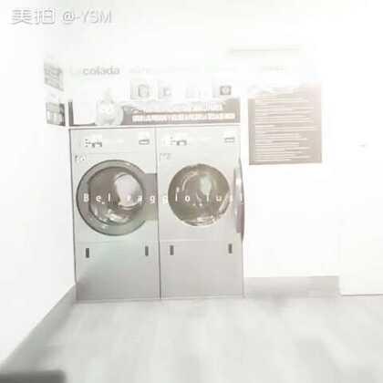 #随手美拍#这个点还在洗衣房洗衣服烘干😂😂😂