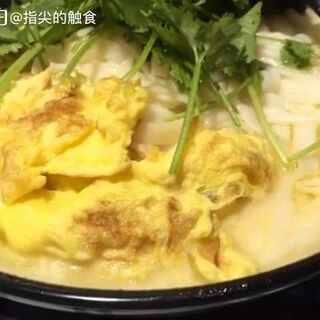 晚餐 一人一碗面搞定😅😅😅#鸡蛋面##美食#