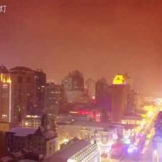 #航拍##大疆航拍##无人机#哈尔滨的夜色