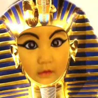 是谁讨到埃及艳后的欢心?亮眼睛👀#宝宝##搞笑宝宝##萌宝宝#