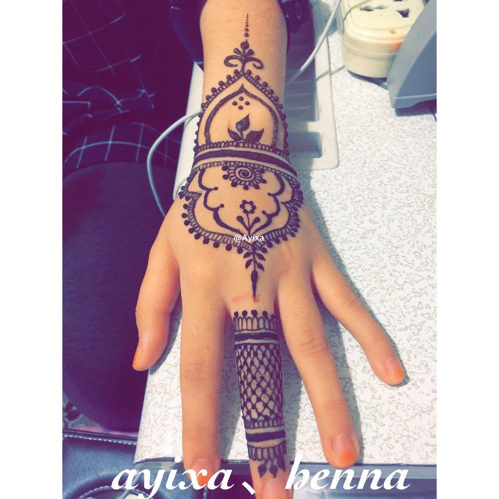 01-25 14:14     #印度海娜手绘#  唯一美好的东西