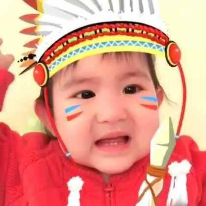 非洲酋长的处罚!亮眼睛👀#宝宝##搞笑##萌宝宝#