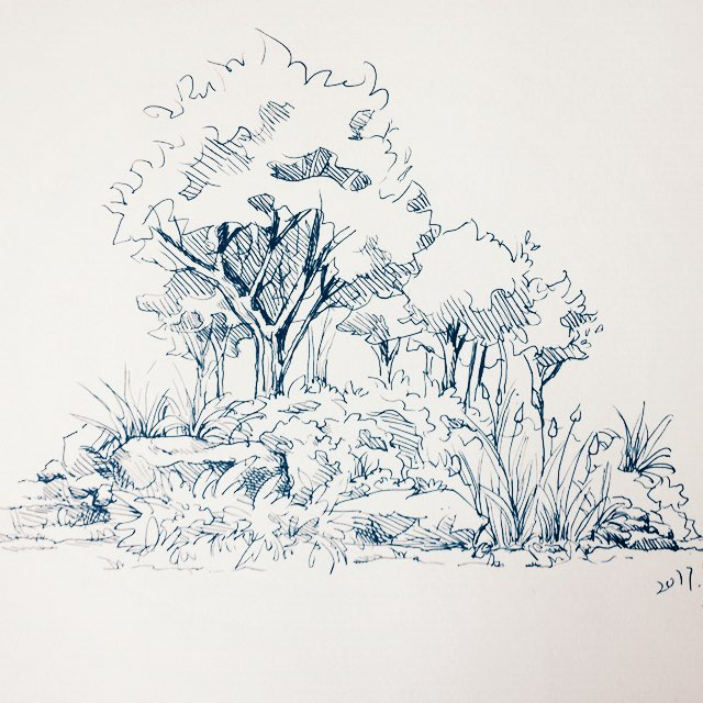 led森系麋鹿背景图片