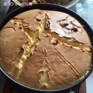 #美食##美味#第一次做的蛋糕!成功