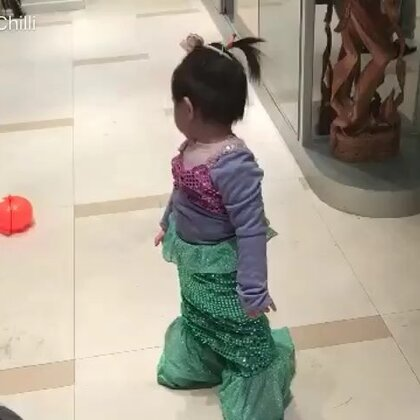 The Little Mermaid #闪麻爱熊孩子#