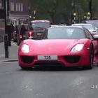都是狠角色 伦敦街拍各种超跑豪车