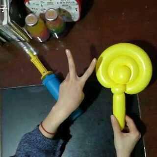 芒果味的气球棒棒糖难度指数气球有很多种不同的做法,最后做出来的