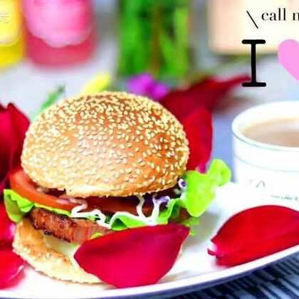 情人节,亲手做一份爱的早餐,让TA感受到你满满的爱意吧~我的爱,你Get到了吗😉#美食##情人节#