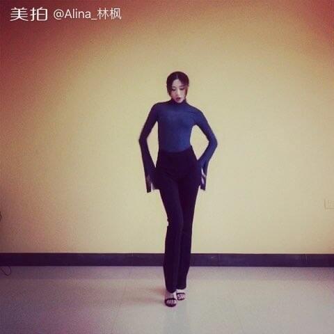 【Alina_林枫美拍】我就等着情人节发粗来,#舞蹈#✨...