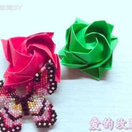 🎀你是我的玫瑰我是你的蝶儿🎀表白@AlLTO爱乐陶 对你爱爱爱不完💕💕💕希望你每天开心快乐💖乐陶陶💖#手工##爱乐陶##手工表白神器#感谢美拍所有的小伙伴对我的支持,爱你们😘😘😘