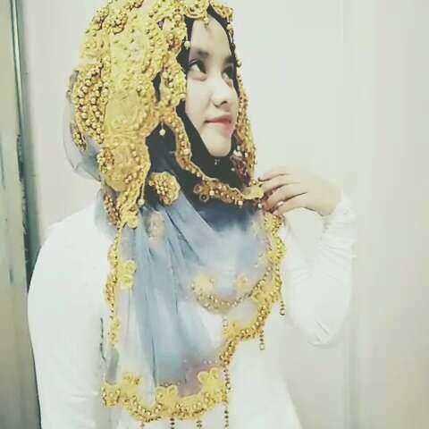穆斯林头巾戴法 K M 国际沙巾教程 女神 安伊尔v的美拍