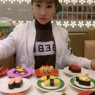 【💋大胃王桐桐💪美拍直播】寿司🍣! #吃秀# #吃秀直播# #热门# #我要上热门#
