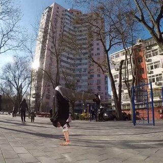 看着真着急,40秒做了一个提倒立。#体操##慢起手倒立##城市猴子跑酷#