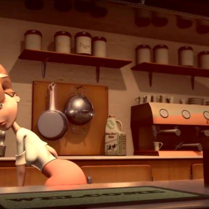 经典动画短片《最后一滴血》😃😃😃