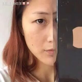 #全民半脸妆#发的一个库存,画的不好,勿喷