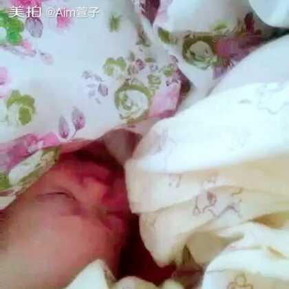 早晨还没睁开眼睛,就先唱歌🎤🎤#宝贝成长日记##我家宝宝唱歌啦啊#