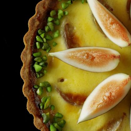 惊爆甜点界的无花果柠檬挞 想不想亲一口?#美食##魔力美食##吃货#