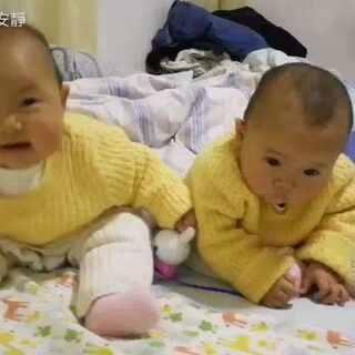 #最萌双胞胎#