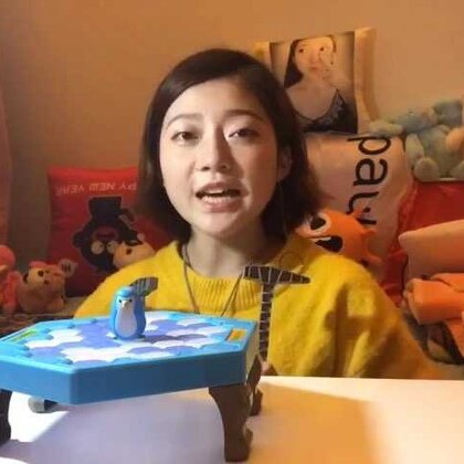 【candy粉妞妞】最近这个#拯救企鹅敲冰块#的游戏很火,终于我也买了一个来玩~这个游戏真是好玩,会游泳的企鹅的挺好拯救的~有兴趣的宝宝也买一个玩吧~🙃🙃🙃🙃