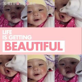 #宝宝##最萌双胞胎#今天是我们哥哥安安🌞哥哥最喜欢笑了🤓🤓