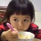 #吃秀##宝宝##搞笑#这个饱嗝儿来的真是出其不意!😂😂😂笑喷了😂😂😂