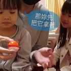 爸爸在醫院為女兒創作的魔術,汝汝片尾有驚人舉動😭😭😭 #寶寶##魔術##模仿汝汝變魔術#