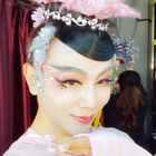 每场演出都要提前定妆才能呈现最美的演出@孙科舞蹈工作室 @孙科舞蹈培训 @美拍小助手