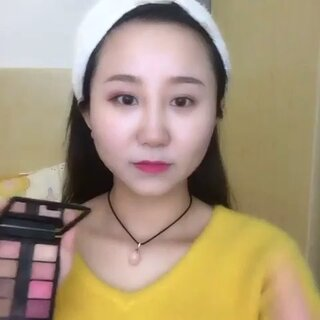 #美妆时尚#超详细眼妆教程,你们喜欢嘛!然后呢有喜欢这款眼影的可以加我的微信哦:d4614333